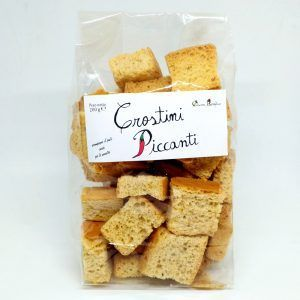 Crostini piccanti
